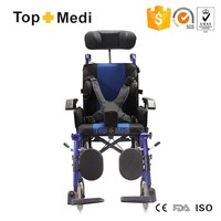 Reclining Cerebral Palsy Manual Wheelchair For