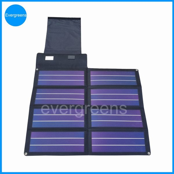 12W folding amorphous solar charger, solar panel made in japan