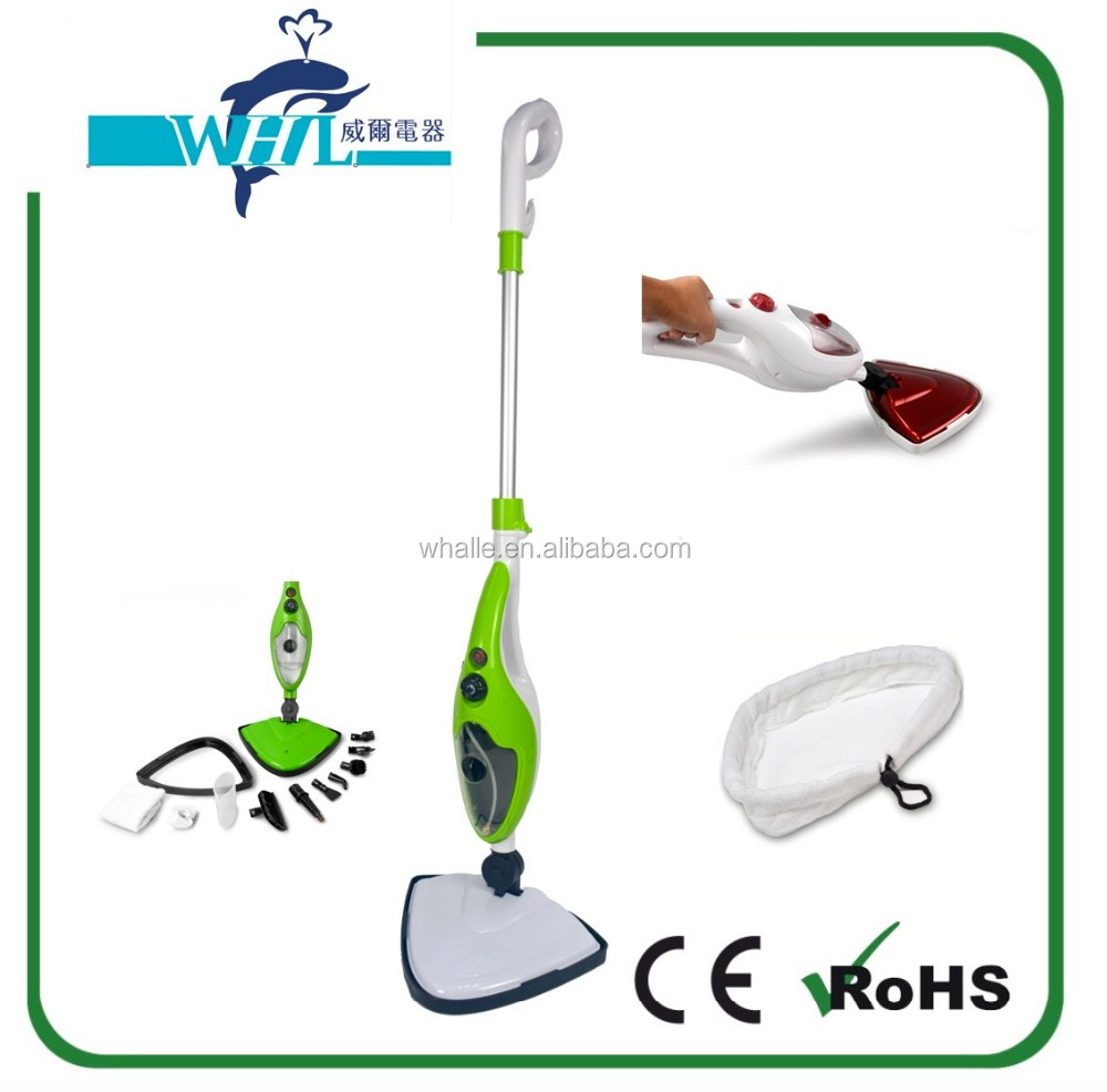 CE GS Rohs certification hot sell 10 in 1 steam mop x10 steam cleaner garment steamer best home appliance