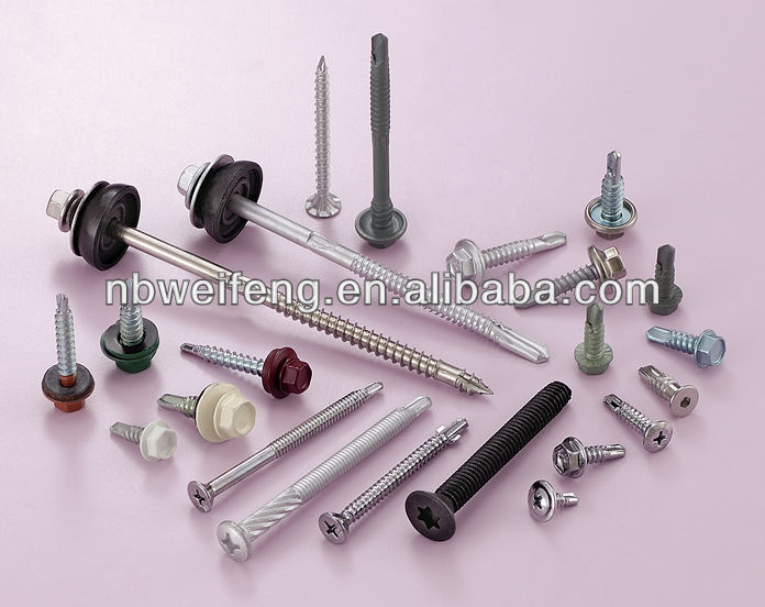 China screw metal bumper case for iphone 5 Manufacturers&Self-Drilling Screw supplier