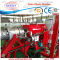 PE gas and water supply pipe extrusion machine