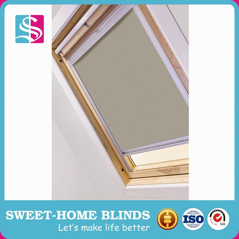China made skylight roller blind with good after-sale service