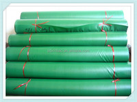 grass green military pvc tarpaulin in roll for tent roofing