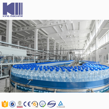 Manufacturer price water bottling and labeling machine