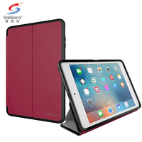 Special touch and perfect design anti-fingerprint Fabric and tpu phone case for ipad mini