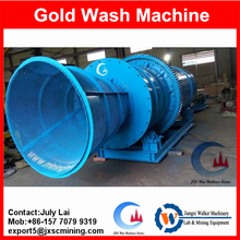 Alluvial gold mine trommel scrubber,drum washer for gold deposit concentration