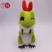Cute Green Frog Stuffed Animal Soft Traveling Frog Japan Game Plush Toy With Hat