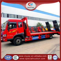 Famous FAW 4x2 low bed tow truck with factory directly sale
