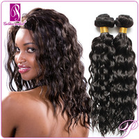 Top quality brazilian curly hair and supreme remy hair weave
