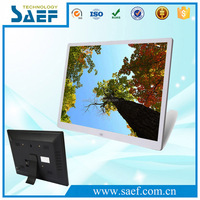 Wide Multi-functional MP3 Media Player 15 inch LCD Screen Digital Photo Picture Frame Display