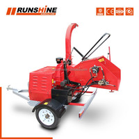 <Weifang Runsing Machinery Co., Ltd> DWC-22 CY1115 diesel drum wood chipper