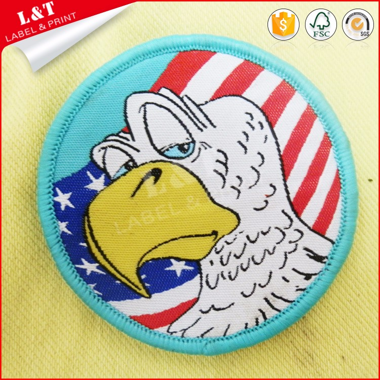 Bulk Buy From China Eagle Back Patch,Eagle Patches For Jackets,Embroidered Badge Animal