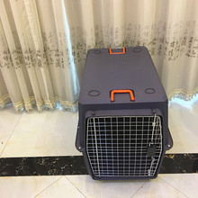 80'' Extra-large Size Plastic Portable Pet Flight Cage Large Dog Transport Box Wholesale Pet Transport Box