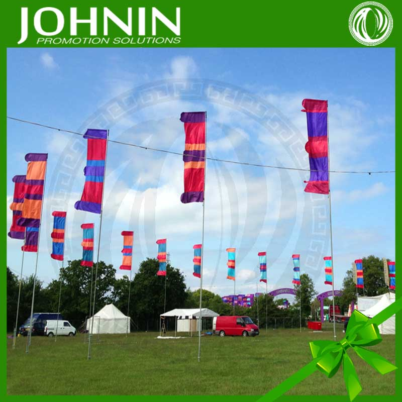 Large Decorative Custom Promotional Low MOQ Festival Flag