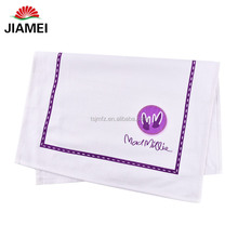 High quality cheap cotton linen plain custom printed kitchen tea towels wholesale