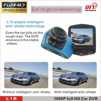 170 degree wide angle full hd car dvr recorder 2.31 inch LCD mini night vision carcam hd car dvr s , L15