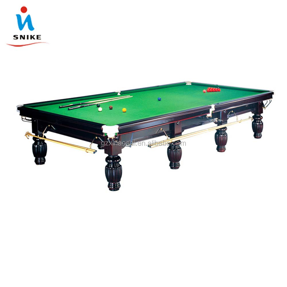 Cheap solid wood snooker table for sale