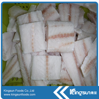 Frozen Pacific Cod Loin/Portions (Gadus Macrocephalus)
