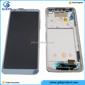 LCD Display Touch Digitizer Screen And Frame Housing For LG G6