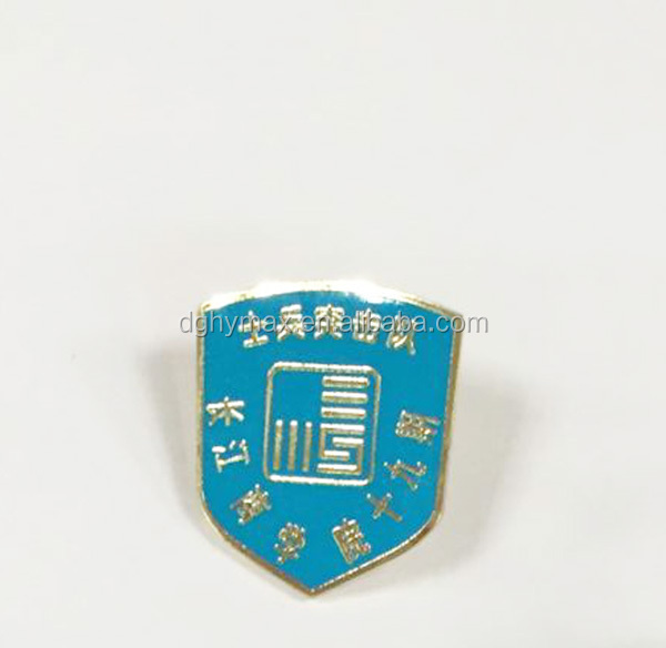 New products custom metal funny lapel pin safety pin for academy