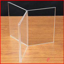 "Multi Sided Acrylic Frame - 6 sided - 7""H x 5""W Table tent frame"