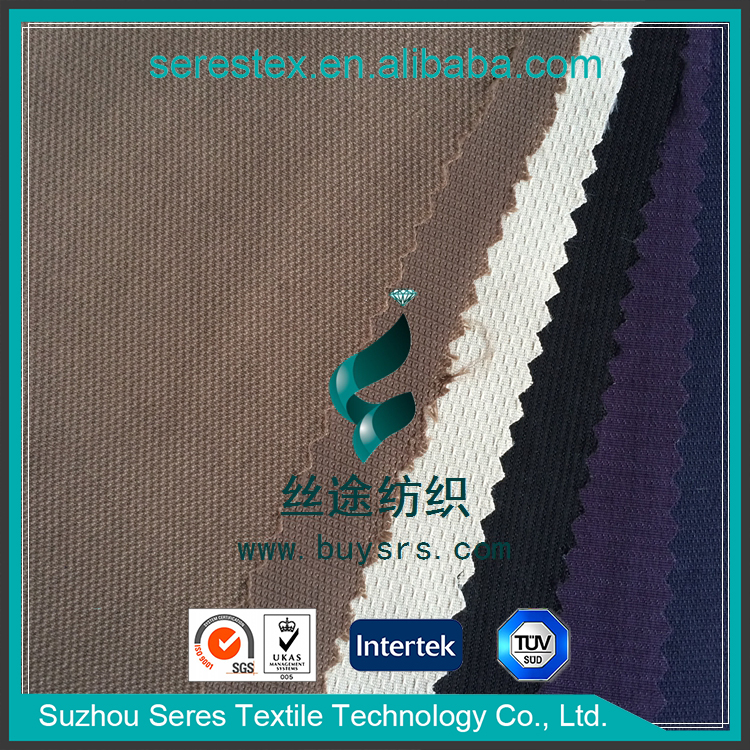 High Quality Thermal Transfer Printing Diamond Grid Fashion Nylon Taslan Fabric