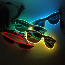 equalizer popular el wire glasses with high luminance