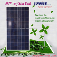 High quality Poly 300W solar panel of factory direct sale pv panel made in China