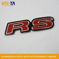 Custom Acrylic Emblems 3M Badge Emblems 3D Plating Car Emblems Customized Logo Adhesive Badge
