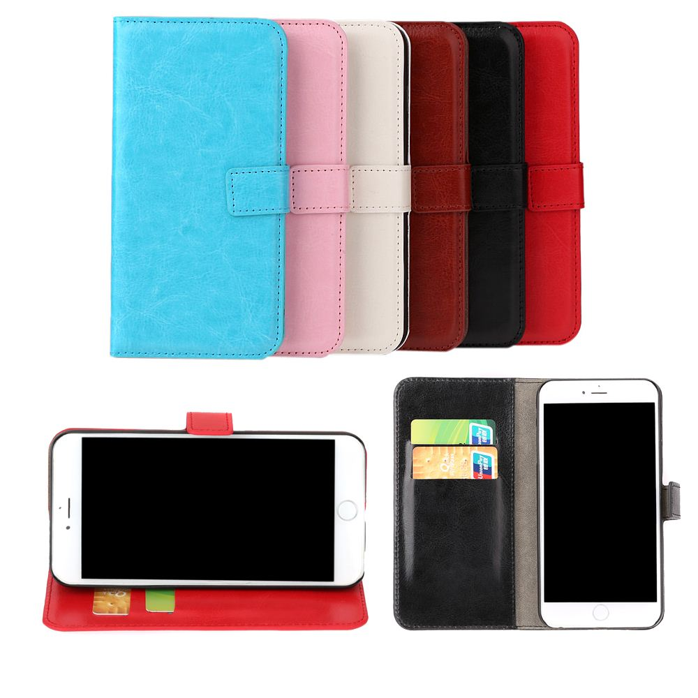 "Big Sales Luxury Flip PU Leather Hard Wallet Case Cover Pouch Stand Folded Magnetic Clip for Apple iPhone 6 4.7"" Inch"
