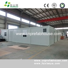 sandwich panel 20ft prebuilt pre-made container home container homes manufacturer
