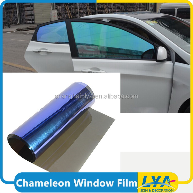 new arrival best price chameleon mirror car window tint film