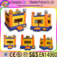 Inflatable sports bouncer for kids exercise