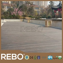 black color strand woven bamboo outdoor flooring