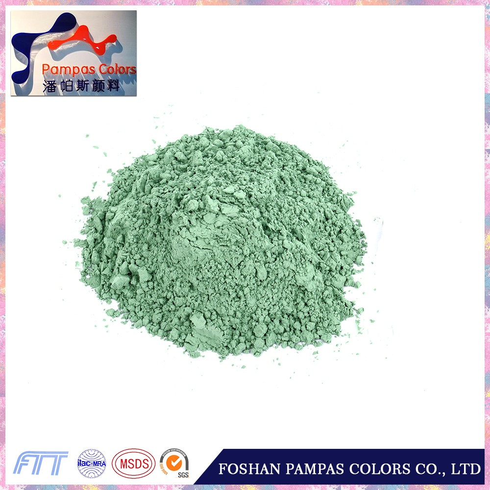Foshan Good Quality Green Inclusion Inorganic Pigment Used in Tile and Porcelain