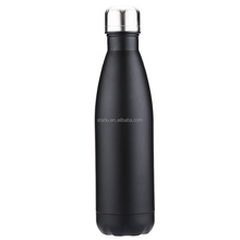 Food Grade Top Quality Promotion Car Drinking Water Stainless Steel Vacuum Clear insulated Water Bottle