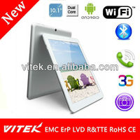 MTK8377 Dual Core 10.1 inch 3G Android Tablets for Bulk