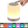 High quality wireless smart music lamp bedside lamp with speaker