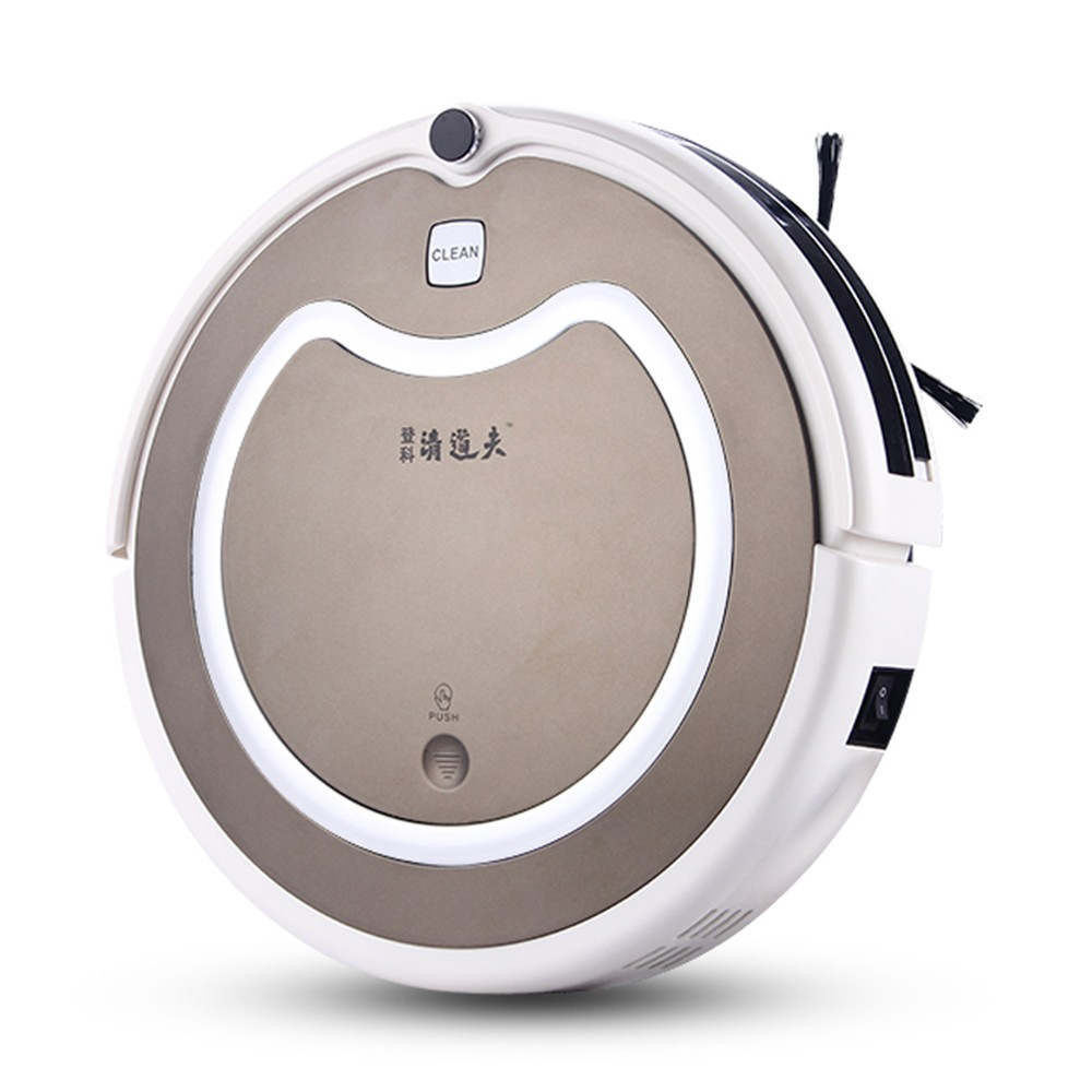Automatic DKrobot vacuum cleaner description with remote control