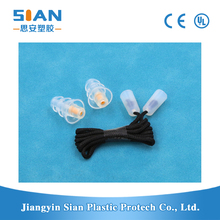 Noise reduction music filter ear plugs in health