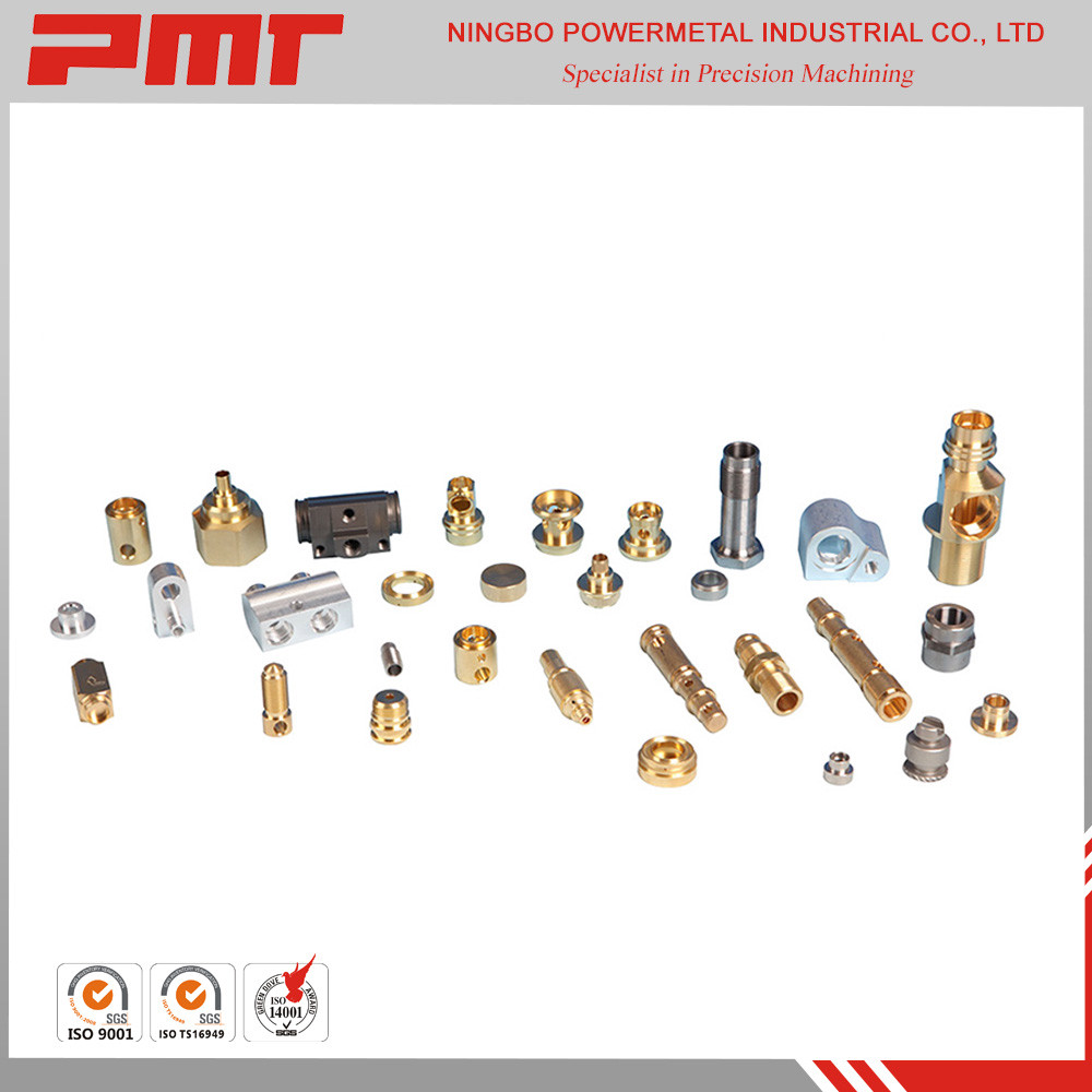 High precision car air conditioning CNC brass turning parts