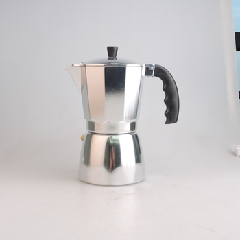Aluminum Moka Espresso Latte Percolator Stove Top Coffee Maker Pot Fashionable Coffee Maker 9 cup
