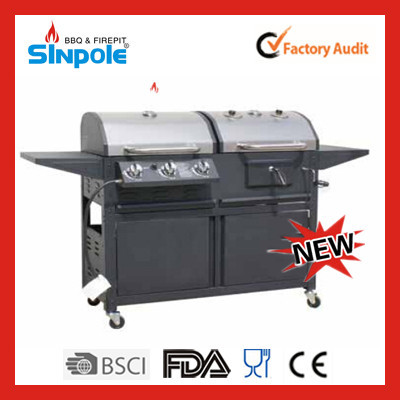 2015 New Patent Sinpole Hot Selling Stand Cooking BBQ