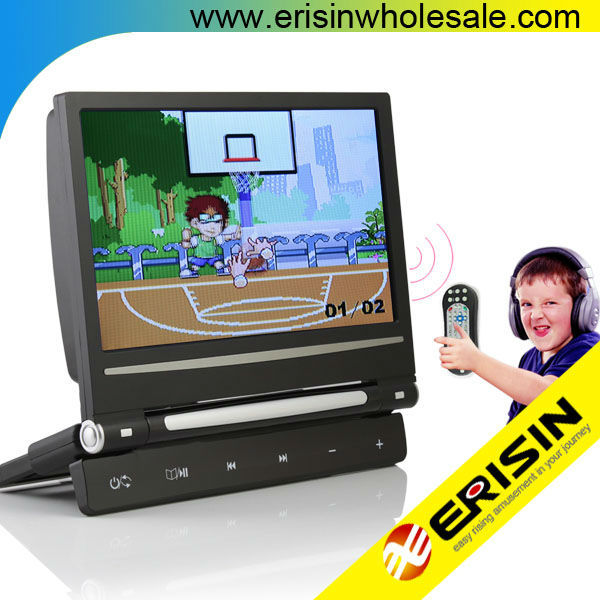 "Erisin ES398 9"" Car Monitor with USB DVD MP5 720 RMVB"