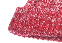 Soft Keep Warming Kintting hat with Woolen