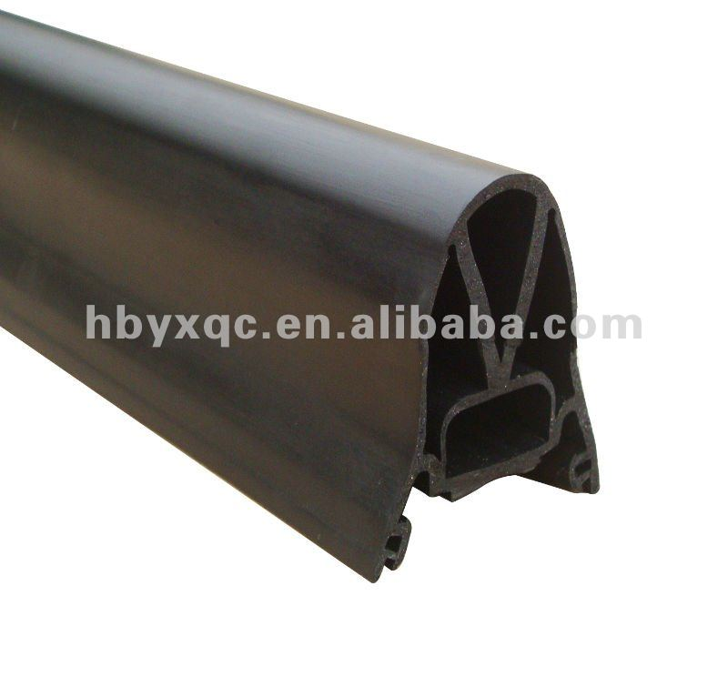 Glass window rubber seal strip