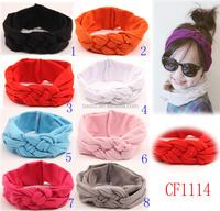 wholesale cute high quality fashion elastic girls turban headband,hair accessories