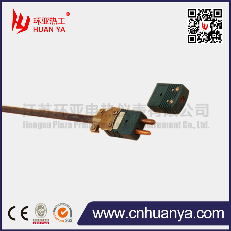 C type thermocouple with molybdenum tube for vacuum furnace
