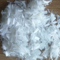 Construction Fiber Raw White Short Cutting