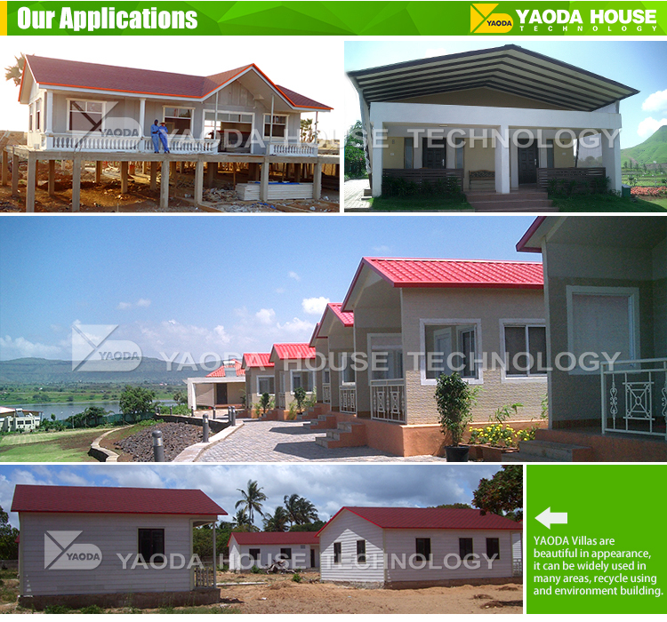 Fast Building Prefabricated Villa House